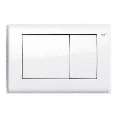 Tece Planus przycisk spłukujący do WC biały połysk 9.240.324