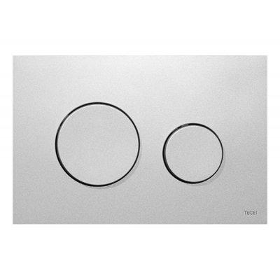 Tece Loop przycisk spłukujący do WC chrom matowy 9.240.625