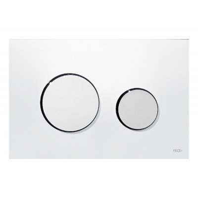 Tece Loop przycisk spłukujący do WC biały/chrom połysk 9.240.627