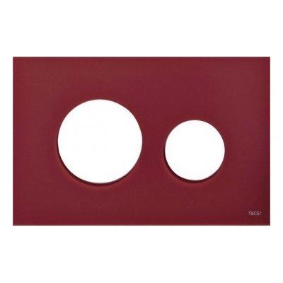 Tece Loop płytka szklana rubinowa czerwień 9.240.679