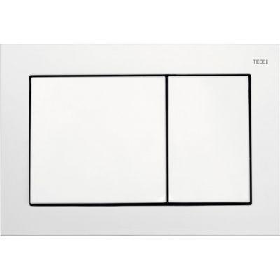 Tece Base przycisk spłukujący do WC biały 9.240.700