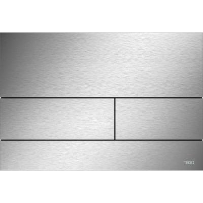 Tece Square II przycisk spłukujący do WC stal szczotkowana 9.240.830