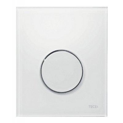 Tece Loop przycisk spłukujący do pisuaru biały antybakteryjny 9.242.640
