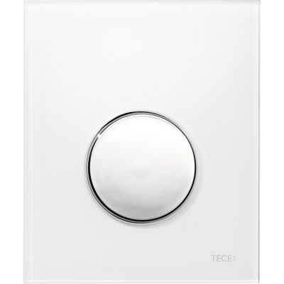 Tece Loop przycisk spłukujący do pisuaru biały/chrom 9.242.627