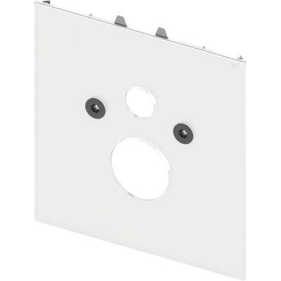 Tece Lux obudowa WC dolna szkło białe 9650100