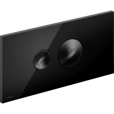 Viega Visign for Style 10 przycisk spłukujący czarny 686543