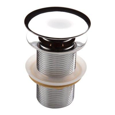 Deante Click-Clack korek okrągły bez przelewu do umywalki chrom NHC010A