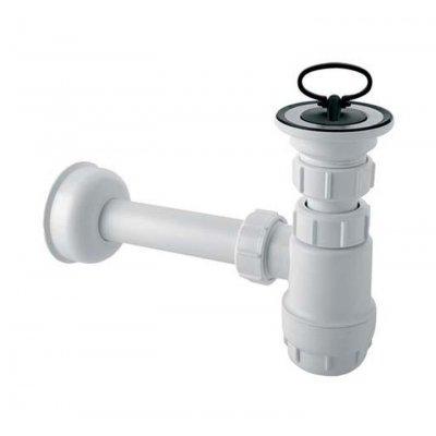 McAlpine syfon umywalkowy butelkowy biały HC1L