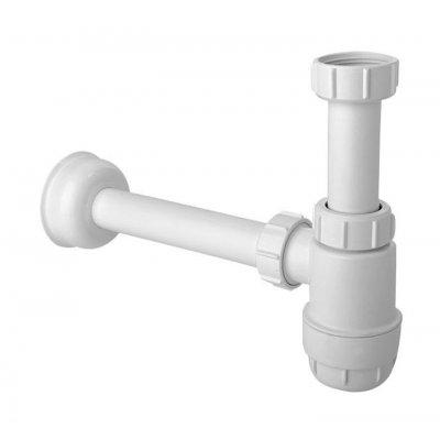 McAlpine syfon umywalkowy i bidetowy butelkowy biały HC2