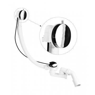 McAlpine syfon wannowy automatyczny MP31SSF-CBR
