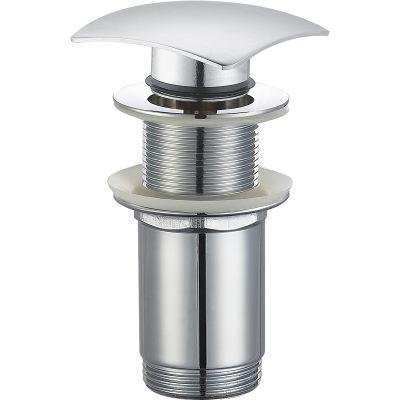 Oltens Rovde (S) korek do umywalki klik klak kwadratowy bez przelewu G 1 1/4 chrom 05202100