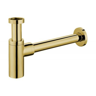 Omnires syfon umywalkowy ozdobny złoty A186ZL