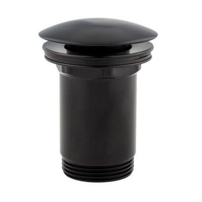 Omnires korek do umywalki klik-klak czarny mat A706BL