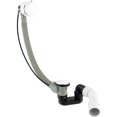 Omnires CGS syfon wannowy przelewowo-odpływowy-napełniający biały TK122-PLUS-3.35+64-SBP