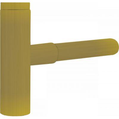 Tres syfon do umywalki teleskopowy złoty mat 161.103.42.OM