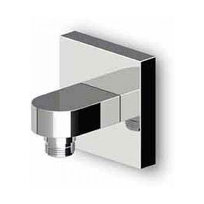 Zucchetti przyłącze kątowe czarny soft touch Z93808.N7