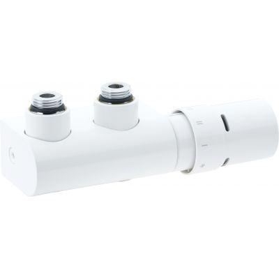 Danfoss VHX-D/RAX zawór kątowy do grzejników biały 013G4281