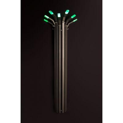 Enix Bambus (BS) grzejnik z oświetleniem 178x55,4 cm grafitowy BS005541780140081000