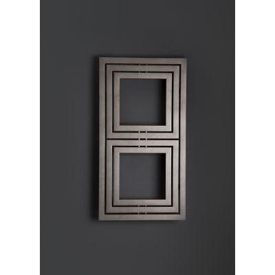 Enix Libra (L) grzejnik ozdobny 111x60 cm grafit strukturalny L00060011101410E1000