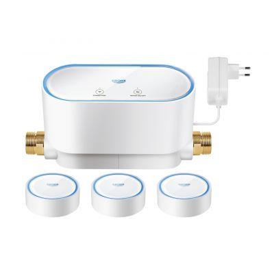 Grohe Sense zestaw trzech inteligentnych czujników wody z modułem sterującym biały 22502LN0