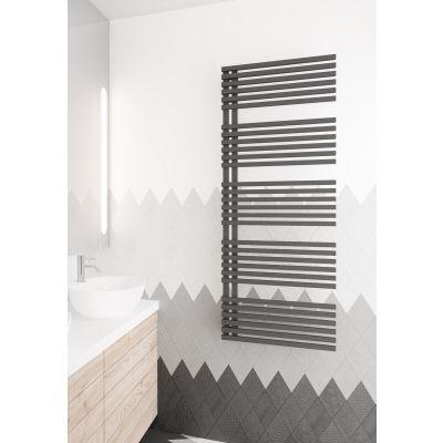 Instal Projekt Giulietta grzejnik łazienkowy 50x118,6 cm graphite GLT-50/120C12
