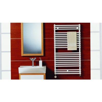 Purmo Santorini grzejnik łazienkowy z podłączeniem dolnym 1134x500 SAN1105