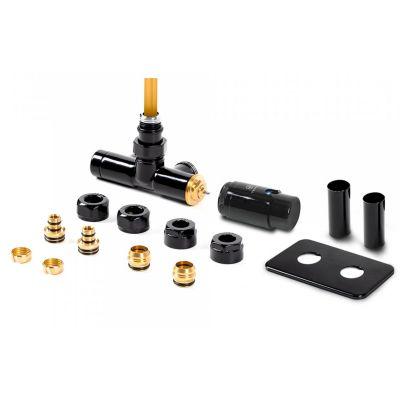 Terma Unico All in One zestaw zintegrowany termostatyczny z rurką zanurzeniową czarny mat TGETUNICPK9M5