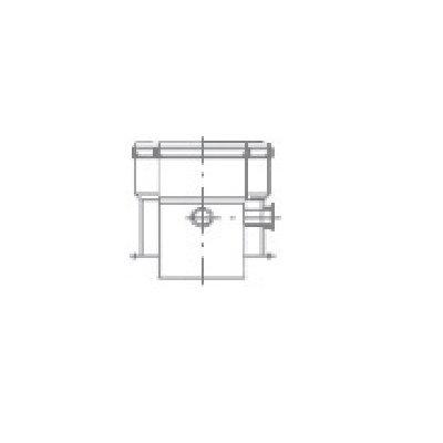 Termet adapter koncentryczny Ø60/100 T9000011200