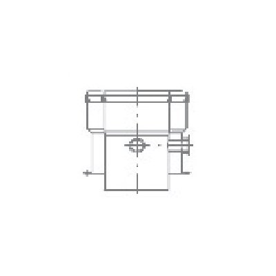 Termet adapter koncentryczny Ř80/125 T9000011300