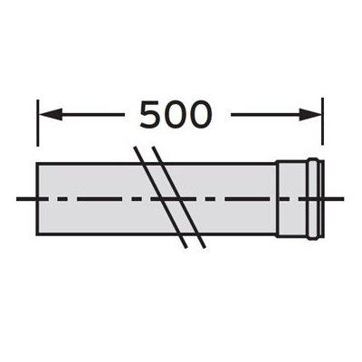 Vaillant rura przedłużająca DN 80 303252