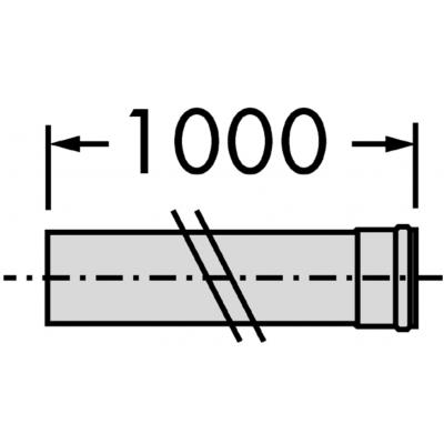 Vaillant rura przedłużająca DN 80 303253
