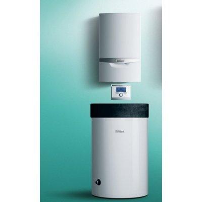 Vaillant ecoTEC plus Thermo2 pakiet systemowy kocioł kondensacyjny jednofunkcyjny VC 206/5-5 z zasobnikiem VIH R 120/6 B i regulatorem multiMATIC 0010018065