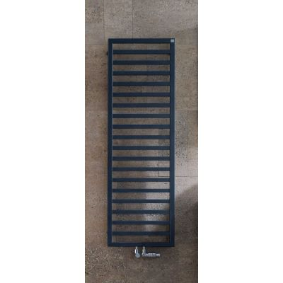 Zehnder Quaro grzejnik łazienkowy 143,3x45 cm elektryczny biały QAE-140-045/GD