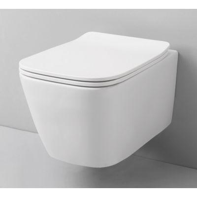 Art Ceram A16 miska WC wisząca Rimless biała ASV00501;00