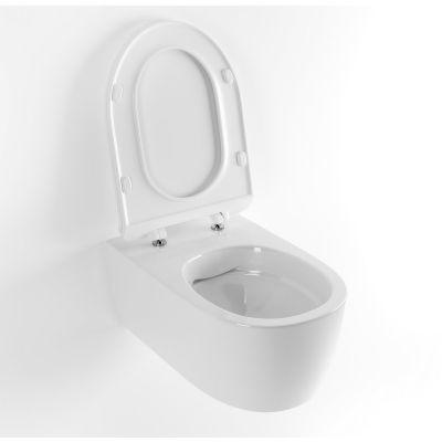 Excellent Doto Pure Rim 54 miska WC wisząca bez kołnierza z deską wolnoopadającą biała CEEX.1404.545.WH