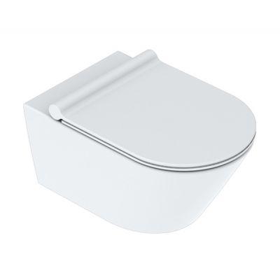 Catalano Zero miska WC wisząca NewFlush biały mat 1VS55NRBM