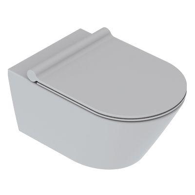 Catalano Zero miska WC wisząca NewFlush cement mat 1VS55NRCS