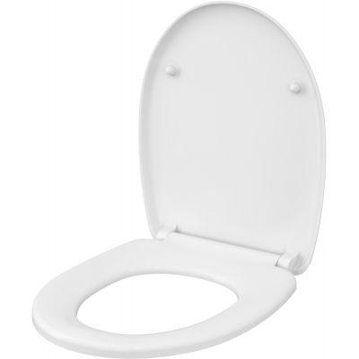 Cersanit Moduo/Delfi deska sedesowa wolnoopadająca biała K98-0191