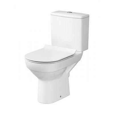 Cersanit City kompakt WC CleanOn z deską wolnoopadającą biały K35-037