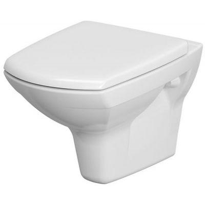 Cersanit Carina CleanOn miska WC wisząca z deską wolnoopadającą biała K701-033
