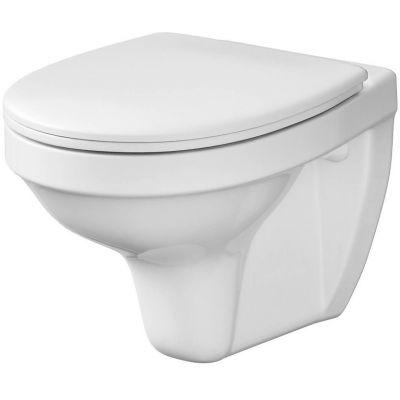 Cersanit Delfi miska WC wisząca z deską sedesową biała K97-140