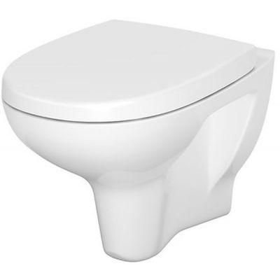 Cersanit Arteco CleanOn miska WC wisząca z deską wolnoopadającą biała S701-178