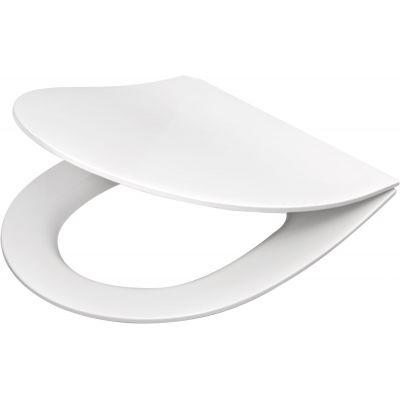 Deante Peonia deska sedesowa wolnoopadająca Slim biała CDE6SOZ