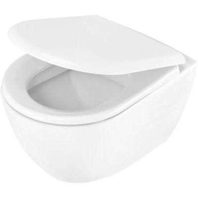 Deante Peonia miska WC wisząca biała CDE6WPW