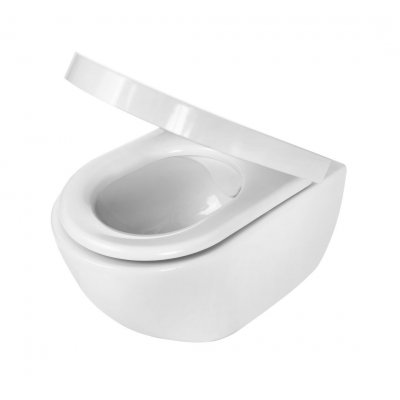 Zestaw Deante Peonia Zero miska WC wisząca z deską wolnoopadającą (CDE6ZPW, CDE6ZOZ)