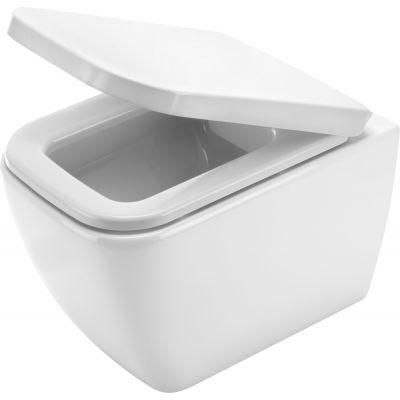 Deante Hiacynt miska WC wisząca bezkołnierzowa biała CDH6ZPW