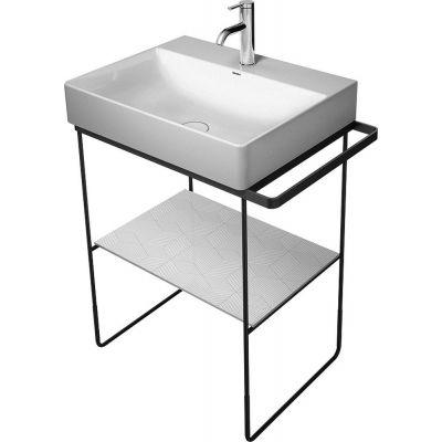 Duravit DuraSquare nogi do umywalki z relingiem chrom 0031011000