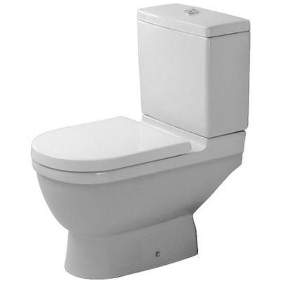 Duravit Starck 3 miska WC kompaktowa stojąca biała 0126010000