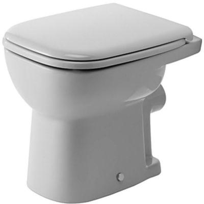 Duravit D-Code miska WC stojąca biała 21090900002