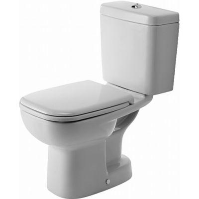 Duravit D-Code miska WC kompaktowa stojąca biała 21110100002